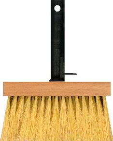 Brosse à décapant fibres naturelles Tampico semelle et manche monobloc polypropylène 17cm - Gedimat.fr