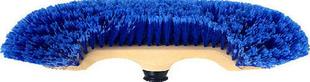 Balai demi-tête synthétique bleu semelle polypropylène 30cm - Gedimat.fr