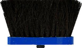 Balai de cour fibres Piassava semelle bois verte 26cm - Gedimat.fr
