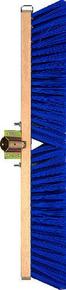 Balai de cantonnier fibres PVC vertes semelle bois 60cm - Gedimat.fr