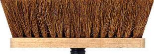 Balai d'intérieur fibres coco long.29cm - Gedimat.fr