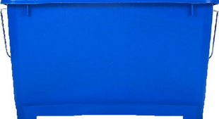 Seau polypropylène pour lavage des vitres professionnel 17 litres bleu - Gedimat.fr