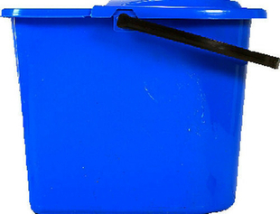 Seau avec essoreuse polypropylène bleu 10 litres - Gedimat.fr