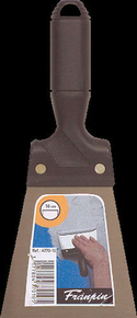 Couteau à enduire acier manche polypropylène 10cm - Gedimat.fr