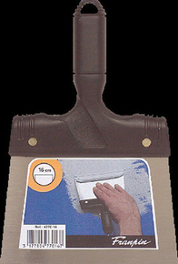Couteau à enduire acier manche polypropylène 16cm - Gedimat.fr
