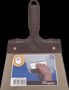 Couteau à enduire acier manche polypropylène 18cm - Gedimat.fr