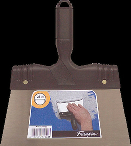 Couteau à enduire acier manche polypropylène 22cm - Gedimat.fr