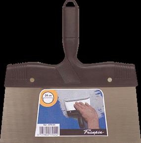 Couteau à enduire acier manche polypropylène 24cm - Gedimat.fr