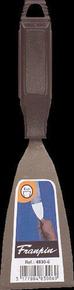 Couteau de peintre acier manche polypropylène noir 6cm - Gedimat.fr