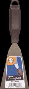 Couteau de peintre acier manche polypropylène noir 7cm - Gedimat.fr