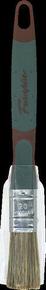 Brosse plate bi matière spécial traitement bois mélange soie et fibres synthétiques manche bi matière n°20 larg.18mm - Gedimat.fr