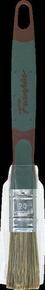 Brosse plate bi matière spécial traitement bois mélange soie et fibres synthétiques manche bi matière n°30 larg.25mm - Gedimat.fr