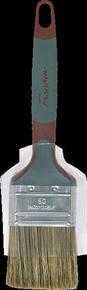 Brosse plate bi matière spécial traitement bois mélange soie et fibres synthétiques manche bi matière n°50 larg.50mm - Gedimat.fr