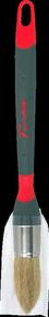 Brosse à rechampir bi matière spécial glycéro fibres soies manche bi matière n°2 diam.215mm - Gedimat.fr
