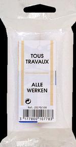 Manchon mousse 2 bords droits pour rouleau peinture tous travaux diam.1,5cm larg.10cm lot de 2 pièces - Gedimat.fr