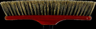 Balai droit soies naturelles semelle polypropylène teinté larg.29cm - Gedimat.fr