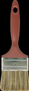 Brosse plate spéciale vernis lasure et traitement bois larg.6,5cm - Gedimat.fr