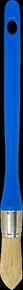 Brosse à rechampir mélange soies fibres synthétiques spécial acryl manche polypropylène n°0 diam.18mm - Gedimat.fr