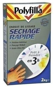 Enduit lissage poudre sechage rapide 1 kg - Gedimat.fr