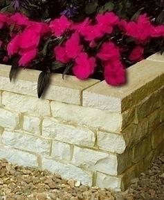 Couronnement pour muret pierre reconstitu e garrigue haut - Muret pierre reconstituee ...