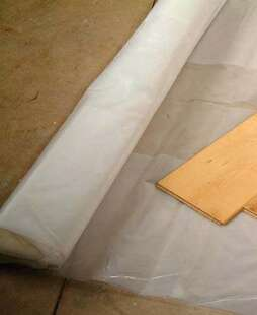 film poly thyl ne isolant poser avant sous couche parquet surface 5x4m rouleau de 20m2. Black Bedroom Furniture Sets. Home Design Ideas