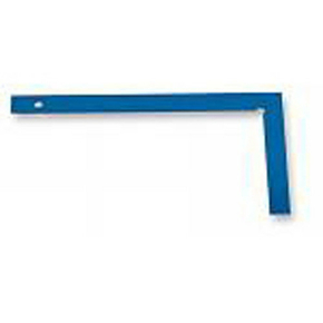 Equerre de maçon acier long.60cm coloris bleu - Gedimat.fr