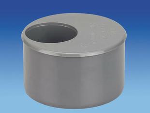 Tampon de réduction en PVC mâle-femelle diam.100/50mm - Gedimat.fr