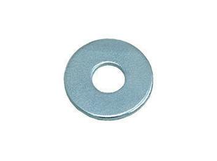 Rondelle plate large acier zingué diam.5mm en vybac de 200 pièces - Gedimat.fr
