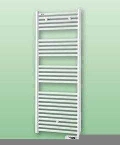 Sèche serviettes électrique ATOLL SPA puissance 750W haut.135.8cm larg.50cm blanc - Gedimat.fr