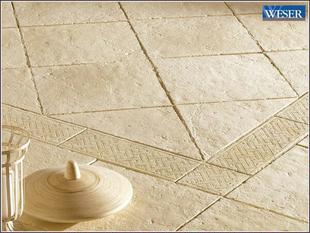 Elément droit de frise pierre reconstituée pour dalle BERGERAC long.49,5cm larg.18,5cm ép.3,2cm - Gedimat.fr