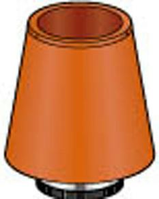 Mitron brun cuivre pour tubage de diam.180mm - Gedimat.fr