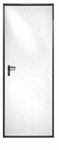 bloc-porte sécurité isolant EUROPRO en acier galvanisé haut.2,00m larg.80cm  gauche poussant - Gedimat.fr 528c210a667
