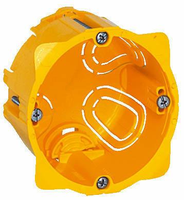 Lot 10 boites dencastrement diam/ètre 67 mm profondeur 40 mm pour cloisons s/èches