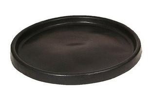 Bac à gâcher circulaire ép.5mm prof.10cm diam.1,50m noir - Gedimat.fr