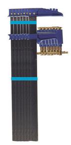 Lot de 6 serre-joints à pompe n°2 en 150-40x10: 2x800mm + 2x1000mm + 2x1500mm - Gedimat.fr