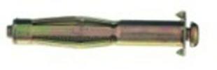 Cheville métallique pour matériaux à corps creux FISCHER type HM-S avec vis diam.8mm long.55mm sous blister de 4 pièces - Gedimat.fr