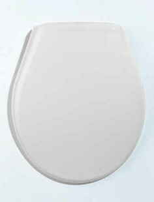 Abattant WC UNO thermoplastique 0,9kg coloris blanc - Gedimat.fr