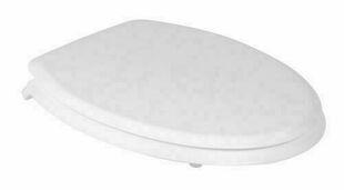 Abattant WC MARINE bois compressé 2kg charnières en polypropylène coloris blanc - Gedimat.fr
