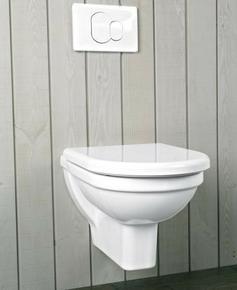 Abattant WC frein de chute pour cuvette ou pack WC Form en duroplast charnières métal blanc - Gedimat.fr