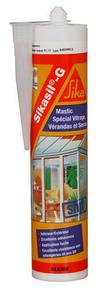 Mastic élastique silicone SIKASIL G cartouche de 300ml translucide - Gedimat.fr