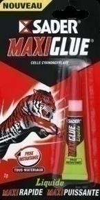 Glue formule liquide Maxiglue tube 3g - Gedimat.fr
