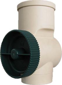 Collecteur d'eau de pluie filtrant 3P diamètre prédécoupé 80/100mm coloris sable - Gedimat.fr