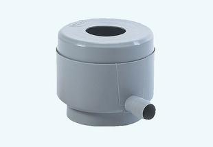 Collecteur d'eau de pluie filtrant éco diamètre prédécoupé 80/100mm coloris gris - Gedimat.fr