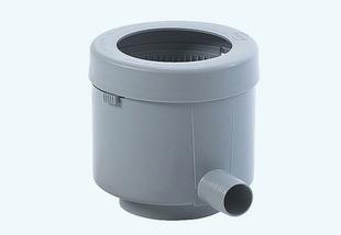 Collecteur d'eau de pluie filtrant Eco de luxe - Gris - Gedimat.fr