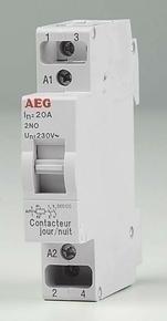 Contacteur modulaire domestique pour tarif heures creuses bipolaire 20A - Gedimat.fr