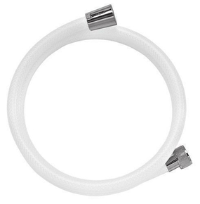 Flexible en PVC lisse 1,50m blanc - Gedimat.fr