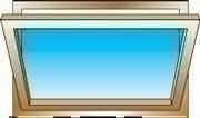 Châssis à soufflet bois exotique lamellé collé sans aboutage isolation totale 100mm vitrage transparent haut.45cm larg.1,00m - Gedimat.fr
