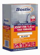 Joint de carrelage fin de 1 à 6mm sac papier 5Kg blanc - Gedimat.fr
