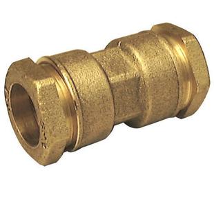 Raccord laiton égal droit femelle pour tube polyéthylène diam.25mm avec lien 1 pièce - Gedimat.fr