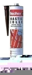 Colle mastic polyuréthane mono-composant spéciale tuiles ZK cartouche 310ml coloris terre cuite - Gedimat.fr
